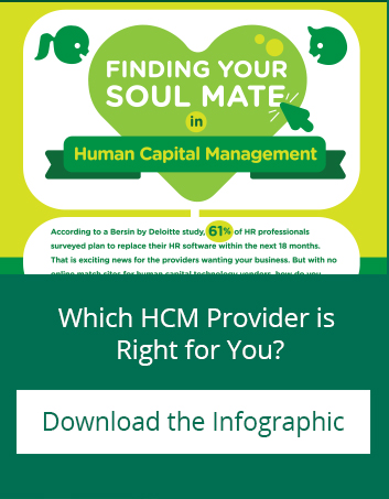 Which HCM provider is Right for you? Download the Infographic