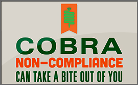 COBRA compliance infographic